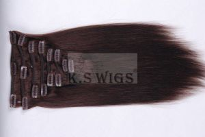 Stylish Brazlilian Virgin Clip in Human Hair Extensions pictures & photos
