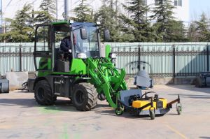Map New Generation Zl08 Mini Skid Garden Small Wheel Loader pictures & photos