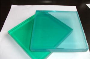 High Quality Green Laminated Glass pictures & photos