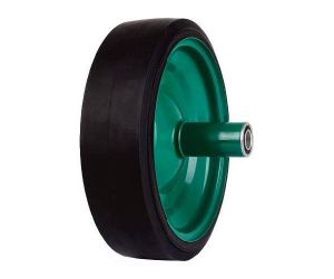 Black 410/350-8 PU Foamed Wheelbarrow Wheel pictures & photos