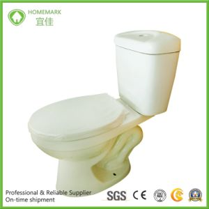 Cheap Siphonic Two Pieces Wc Toilet for South America Market pictures & photos