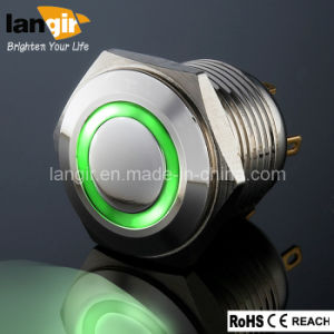 Ring Illuminated Anti-Vandal Short Body Push Button Switches, LED Push Button Switch pictures & photos