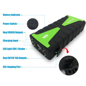 Factory Wholesale Battery Chaarger Car Battery Jump Starter for Emergency pictures & photos