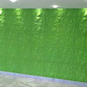 Three Dimensional Wave Panels