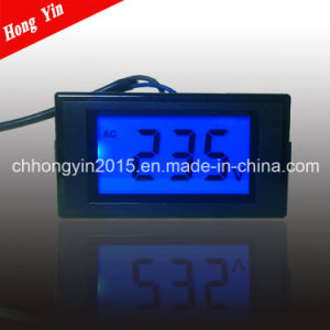 D69-22 Hot LCD AC Digit Voltage Meter pictures & photos