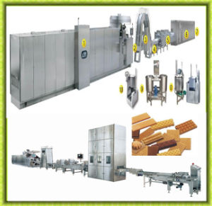 Hot Sale Full Automatic Wafer Biscuit Production Line pictures & photos