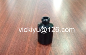 60ml Black Glass Lotion Bottles, Glass Essential Oil Bottles, Black Series of Glass Lotion Bottles