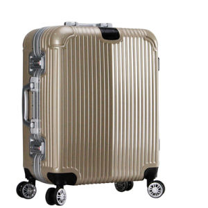 2016 New ABS+PC Luggage Aluminum Frame, Rolling Luggage, Suitcase With22, 26