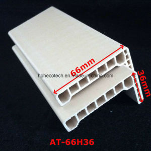 at-66h36 WPC Door Architrave WPC Door Frame PVC Foamed Door Architrave pictures & photos