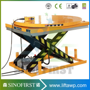 1ton 2.5ton 3ton Hydraulic Scissor Lifting Table pictures & photos