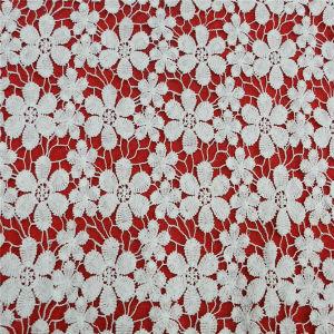 Coral Sugar Honey Suckle Cotton Design Fabric Lace (L5143) pictures & photos