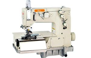 Making Belt Loop with Front Cutter Sewing Machine (LD2000C)