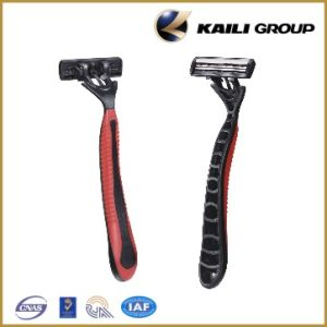 Kl-X201L Top Stainless Steel Blade Shaving Razor pictures & photos