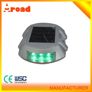 Aluminium Pavement Solar Cat Eye Reflective Road Stud pictures & photos