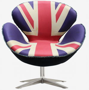 Modern Furniture Rotary Upholstery Soft Leisure Swan Chair pictures & photos