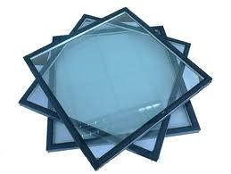 Solar Reflective Bule and Low E Insulated Glass pictures & photos