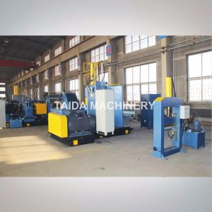 Hardened Gear Automatic Drilled Two Roll Rubber Mixing Mill Machine Xk-400, 450, 560, 610 pictures & photos