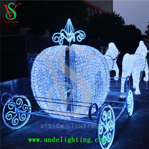 Shopping Mall Horse Carriage Light Christmas Decoration pictures & photos