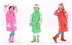 Classical Fashion Animal Kids/Children Printing Raincoat
