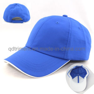 Polyester Microfiber Embroidery Sport Golf Baseball Cap (TMR05196) pictures & photos