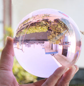 Crystal Ball Seven Color Glass Globe Crystal Ball Gifts (KS12023) pictures & photos