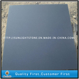 Honed Absolute Shanxi Black Granite Tiles Stone for Floor pictures & photos