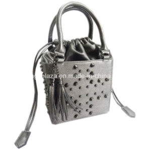 Special Rivets Style Basket Bags, Fashion Lady Handbags, PU Bags