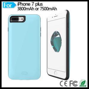 "Ultra Slim Extended Backup Power Bank Battery Charger Case Cover for Apple iPhone 7 Plus 5.5"" pictures & photos"