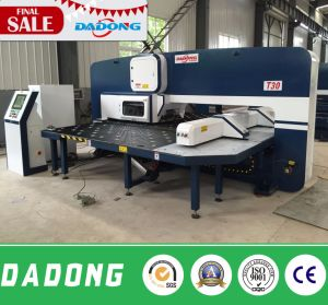 16/24/32 Stations with 2 Auto Index CNC Turret Punching Machine for Sheet Metal Processing pictures & photos