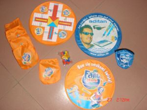 Toy & Hobbies Flying Nylon Frisbee for Promotion (3488) pictures & photos