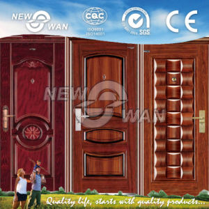 Iron Safety Steel Entrance Door pictures & photos