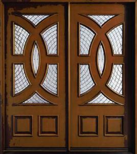 Solid Wooden Door with New Design, Entrance Door, Classic Wooden Door pictures & photos