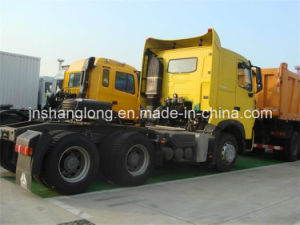 6X4 10 Wheels 40t Truck Tractor (371HP with A/C) pictures & photos