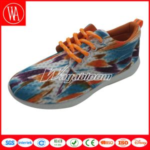 Summer Mesh Breathable Unisex Leisures Shoes with Printing pictures & photos