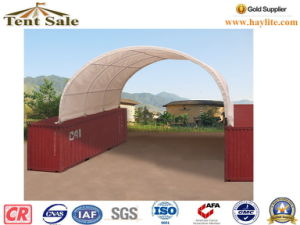 Outdoor Storage 20 40ft Container Tent with Back pictures & photos