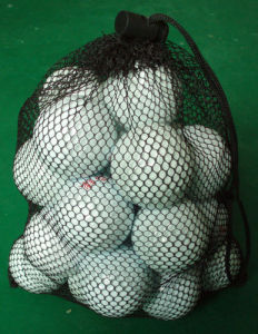 Golf Ball Packed in Net Bag, Your Logo Are Welcome