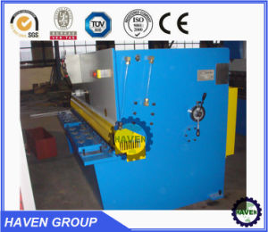 Hydraulic Swing Beam Shearer QC12Y-8X4000 pictures & photos