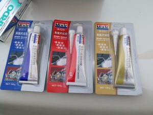 New Import Hi-Temp Silver RTV Silicone Sealant Gasket
