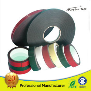 Outdoor Durable Customized PE Waterproof Self Adhesive Foam Tape pictures & photos