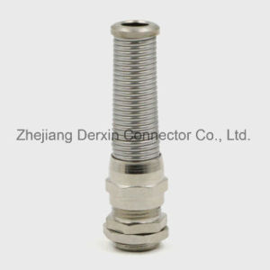 NPT1/4-NPT3/4 Direct Manufacturer UL Spiral-Bend-Proof Metal Cable Gland pictures & photos