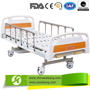 High Quality Hospital Bed Foldable Guardrail with Castors (CE/FDA/ISO) pictures & photos