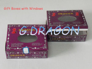 Customed Box with Windows (GD-BWW001) pictures & photos
