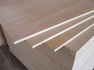 CE Qualified Chinese Factory High Quality Commercial Okoume Plywood pictures & photos
