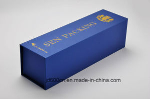 Slap-up Wine Box/Book Shape Box/Foldable PU Wine Packaging pictures & photos