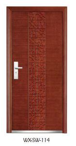 Steel Wooden Door (WX-SW-114) pictures & photos