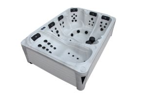 SAA Ce Certificates Large Space Model Jacuzzi Outdoor Whirlpool Luxury SPA (M-3378) pictures & photos