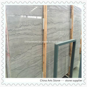 Chinese Black/Grey Line Marble for Villa Floor and Wall Tiles pictures & photos