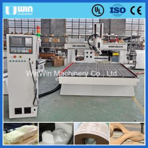 Memeory Card Syntec Control System 4 Axis CNC Router Machine pictures & photos