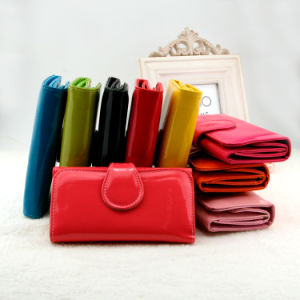PVC Short Wallet for Women pictures & photos