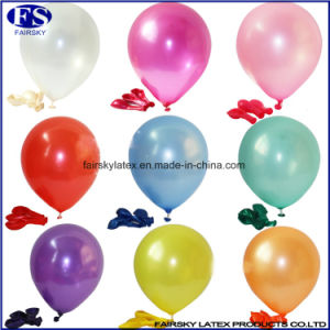 Custom Made Pearl Latex Printed Balloon with Logo pictures & photos